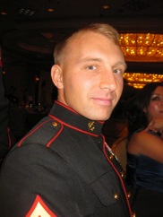 Jesse Wilkes, Marines, served 2 tours in Iraq, killed on a motorcycle accident.